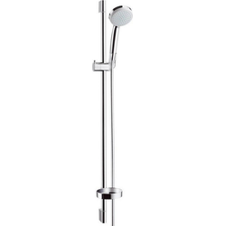 hansgrohe Stangenbrause-Set Brausestangenset Croma 100 Vario / Unica'C hansgrohe, Höhe 95.8 cm