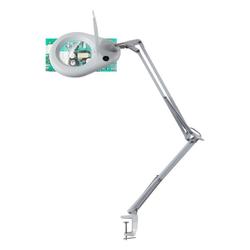 click-licht LED Tischleuchte LED Lupenleuchte 7,7W 1800lm 6200K in Weiß, Tischleuchte, Nachttischlampe, Tischlampe