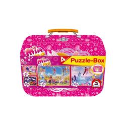Schmidt Spiele Puzzle Schmidt – Mia and Me Puzzle-Box, 2 x 100 Teile, 2, 100 Puzzleteile