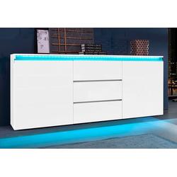 Tecnos Sideboard Magic, Breite 180 cm weiß