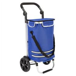 monzana Trolley blau 35 cm x 100 cm x 44 cm