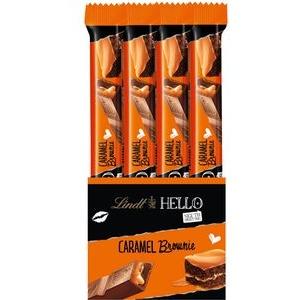 Lindt Schokoriegel HELLO Sticks Caramel Brownie, 936g, je 39g, 24 Riegel