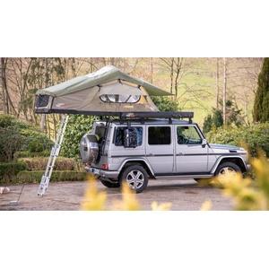 CAMPWERK Adventure Dachzelt inkl. Matratzenunterlage, 140cm, oliv