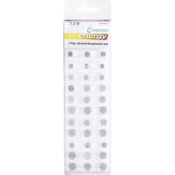 Knopfzellen-Set je 3x AG 1, AG 2, AG 3, AG 4, AG 5, AG 6, AG 7, AG 8, AG 9, AG 10, AG 11, AG 12, AG