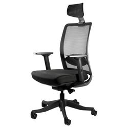 Fotel ergonomiczny Talnass z zagłówkiem