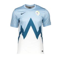 NIKE Herren Trikot 'Slowenien' blau / weiß, Größe XL, 5081092