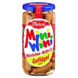 Meica Mini Wini Würstchenkette Geflügel mild fein und klein 190g