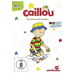 Caillou - Verreisen mit Caillou - DVD  Filme