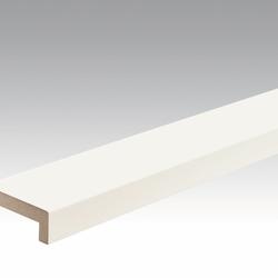 Meister Sockelleisten Winkelabdeckleisten Weiß 4038 - 2380 x 60 x 22 mm -