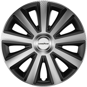 Goodyear Radkappe Memphis Carbon 14, 14 in Zoll, (Set, 4-St)