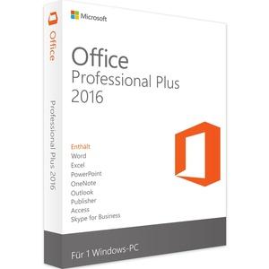 Microsoft Office 2016 Professional Plus - Windows - Vollversion