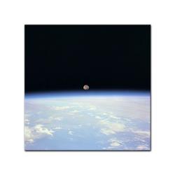 Bilderdepot24 Leinwandbild, Leinwandbild - Weltraum 80 cm x 80 cm