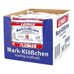 Leimer Mark-Klößchen 100 g, 16er Pack