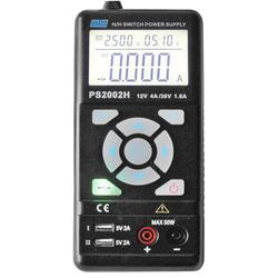 Tragbares Labornetzgerät PS2002H 0,3 - 30 V DC / 0 - 3,75 A max.