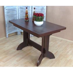 Esstisch Toledo, ausziehbar auf 170 cm braun Ausziehbare Esstische Tische