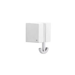 pieperconcept Wandhaken Ancora weiß, Designer Murken & Hansen, 6.3x6.3x5.3 cm