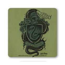 LOGOSHIRT Untersetzer im Slytherin-Stil grün