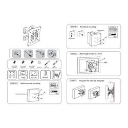 Lindy Monitorhalterung Schwenkbar