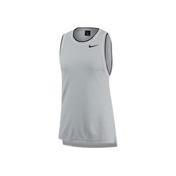 Nike Tennisshirt Dry Sl grau M (40-42 EU)