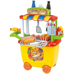 Playgo Spielgeschirr Gourmet Hotdog Cart - 30 tlg.