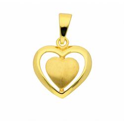 Adelia´s Anhänger Set 333 Gold Anhänger, 333 Gold Goldschmuck für Damen