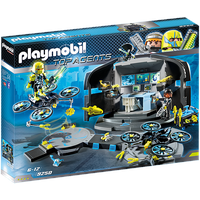 Playmobil City Action Dr. Drone's Command Center 9250