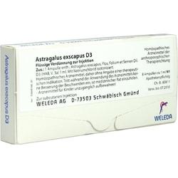 ASTRAGALUS EXSCAPUS D 3 Ampullen 8 ml