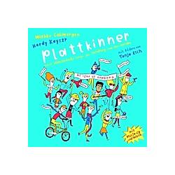 Plattkinner  m. Audio-CD. Wiebke Colmorgen  - Buch