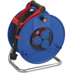 Kabeltrommel Garant IP44, Durchmesser 290mm, Spezialkunststoff,3 x 230V Steckdose, 40m RN Kabel
