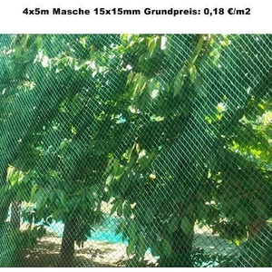 Vogelschutznetz Laubnetz Gartennetz Teichnetz Reihernetz Pflanznetz Größen