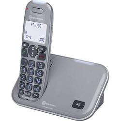 Amplicomms PowerTel 1700 Schnurloses Seniorentelefon LC-Display Punktmatrix Mono Grau