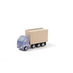 Spielzeugauto Laster Aiden aus Holz Spielzeugautos mehrfarbig