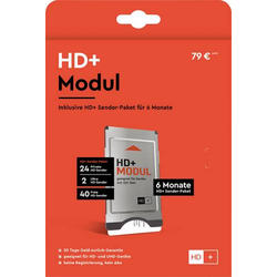 HD Plus CI+ Modul SAT inkl. 6 Monate kostenlosen HD+ Empfang