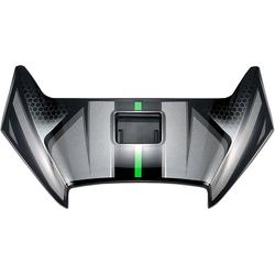 Shoei X-Spirit III Aerodyne, Lüftungsschieber - Schwarz/Grau/Grün