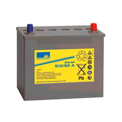 SUNSET Solar-Gel-Batterie 60 Ah grau 60 Ah