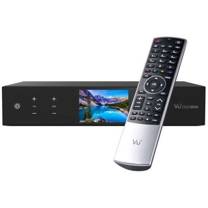 VU+ Duo 4K SE BT PVR Ready Linux Receiver UHD 2160p 1x DVB-S2X FBC Twin & 1x DVB-C FBC 500GB