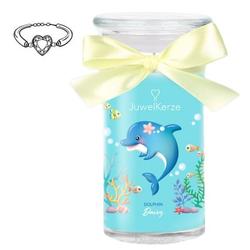 Juwelkerze Dolphin Daisy - Duftkerze mit Armband