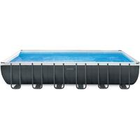 Intex Ultra Frame Set 732 x 366 x 132 cm inkl. Sandfilteranlage + Salzwassersystem (26368)