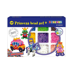 Playbox Bügelperlen 3D-Bügelperlen Set Prinzessin, 4.000 Perlen