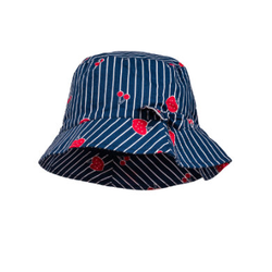 maximo Girls Hut Streifen-Fruits navy-red