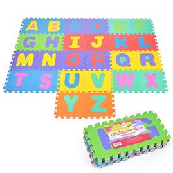 Puzzlematte mit Buchstaben Puzzlestar ABC bunt