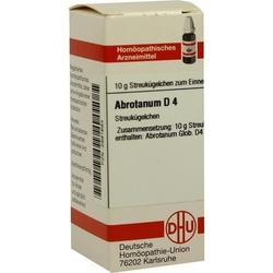 ABROTANUM D 4 Globuli 10 g
