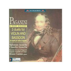 Salvatore Accardo - 3 Duette f.Violine u.Fagott (CD)
