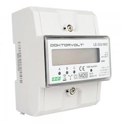 3 Phasige 0,25÷10(80)A Stromzähler MID Drehstromzähler Zähler LE-02D MID F&F 2686