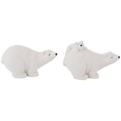 Tierfigur Eisbären (Set, 2 Stück)