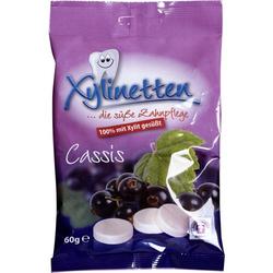 XYLINETTEN Cassis Bonbons 60 g