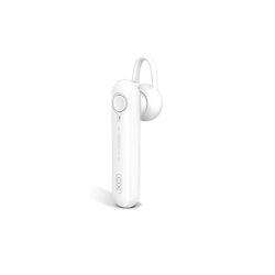 XO XO Bluetooth 5.0 Kopfhörer Headset BE11 360 Grad Stereo Sound Wireless im Ohr kompatibel mit Smartphone weiß Smartphone-Headset weiß