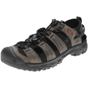 Keen TARGHEE III SANDAL Grey Black Herren Outdoor-Sandalen Grau, Grösse: 42 EU