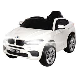 Actionbikes Motors Spielzeug-Auto Kinder Elektroauto BMW X6M F16, inkl. Fernbedienung weiß
