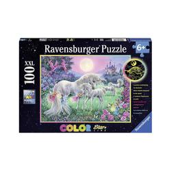 Ravensburger Puzzle Puzzle Color Star Line, 100 Teile, 49x36 cm, mit, Puzzleteile
